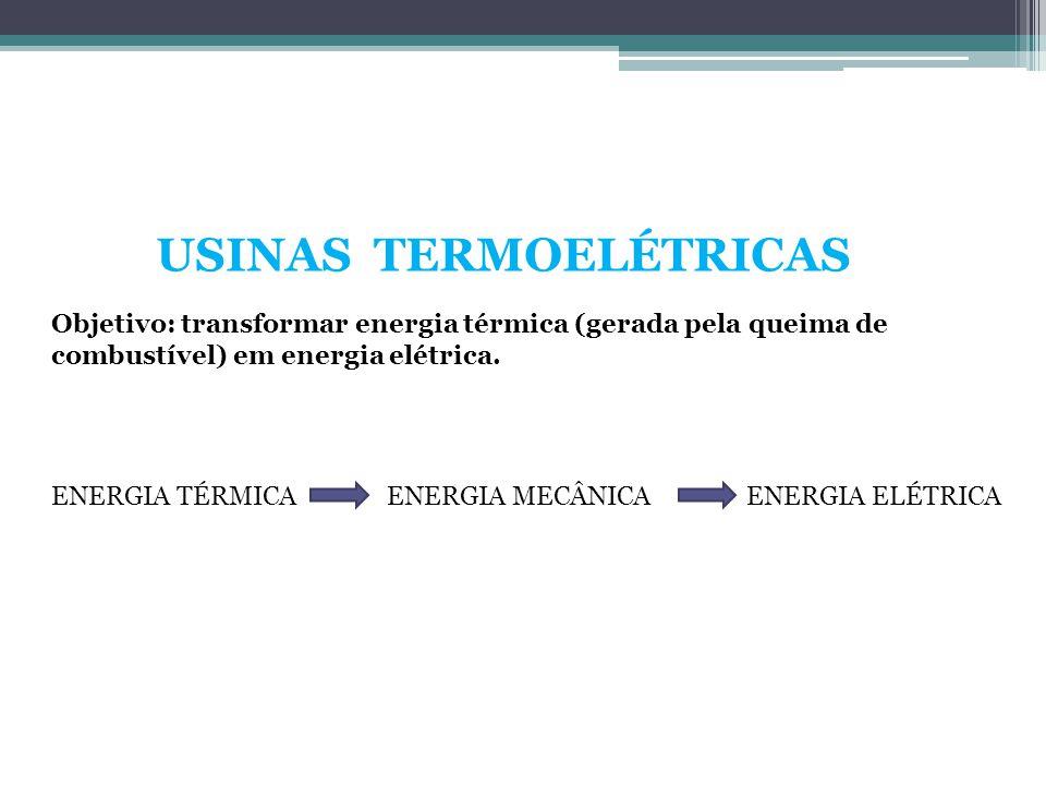 USINAS TERMOELÉTRICAS