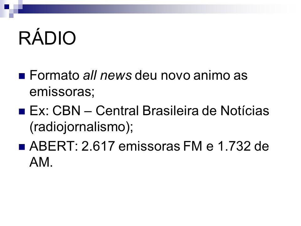 RÁDIO Formato all news deu novo animo as emissoras;