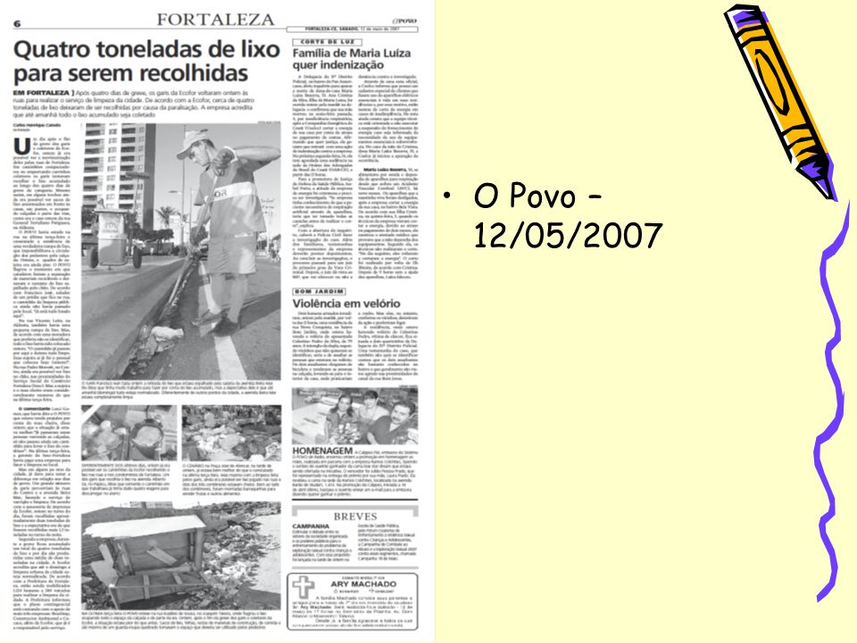 O Povo – 12/05/2007