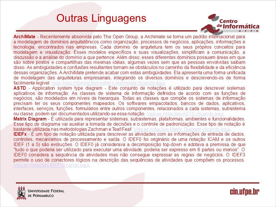 Outras Linguagens
