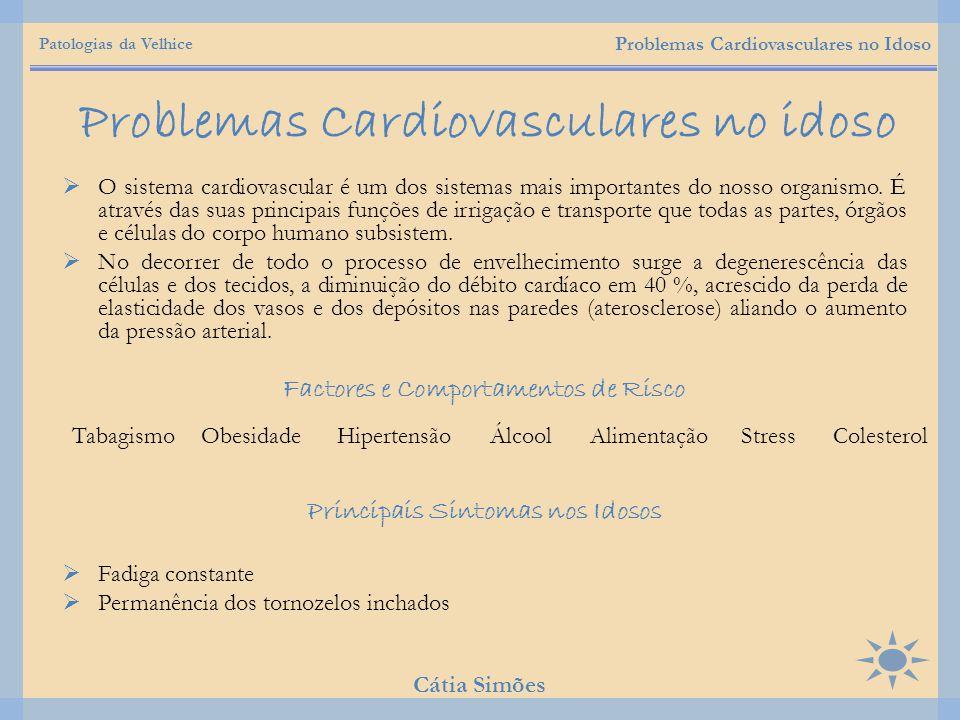 Problemas Cardiovasculares no idoso