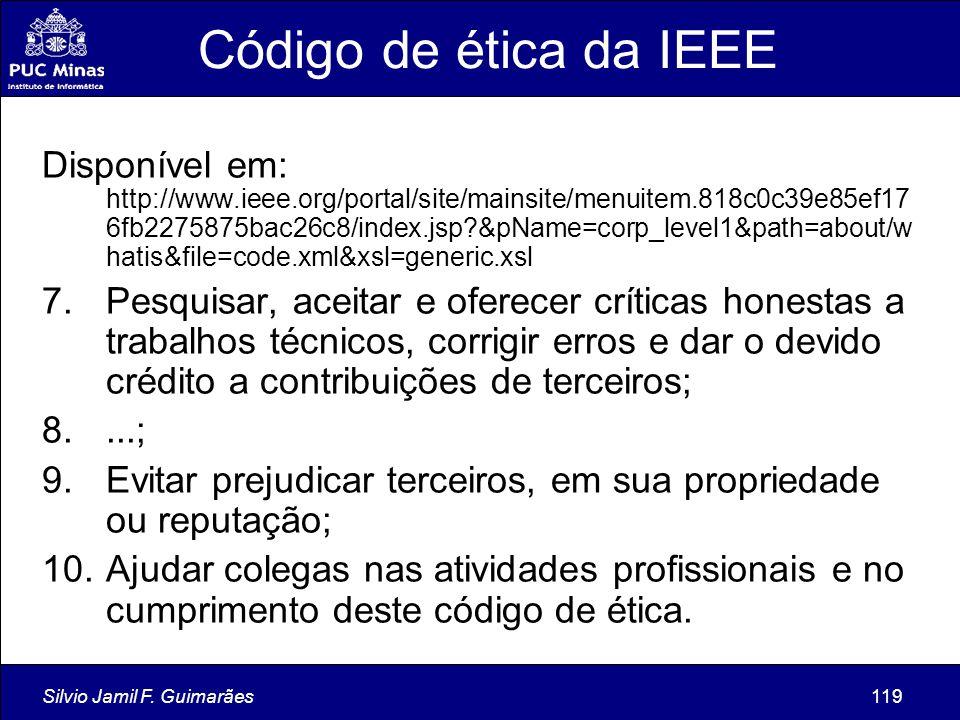 Código de ética da IEEE