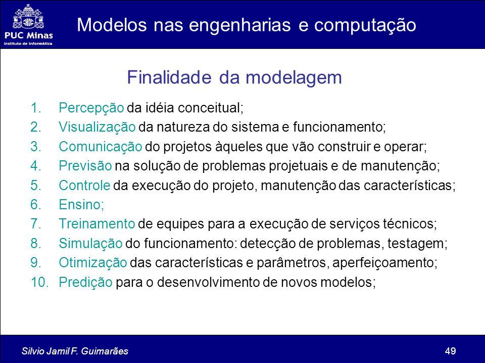 Modelos nas engenharias e computação