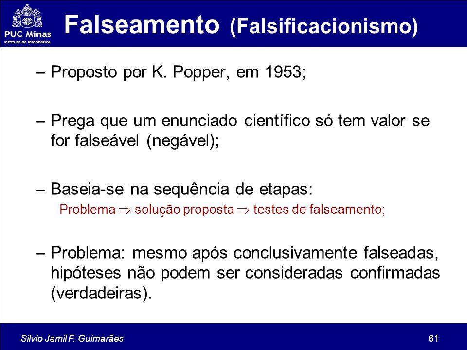 Falseamento (Falsificacionismo)