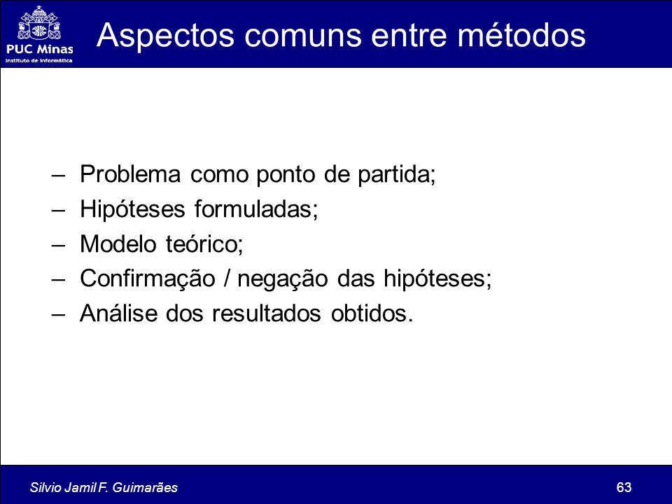 Aspectos comuns entre métodos