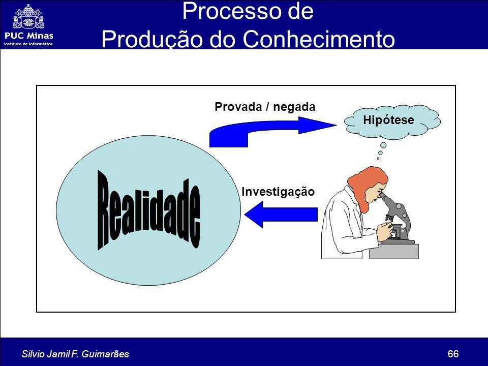 Processo de Produção do Conhecimento