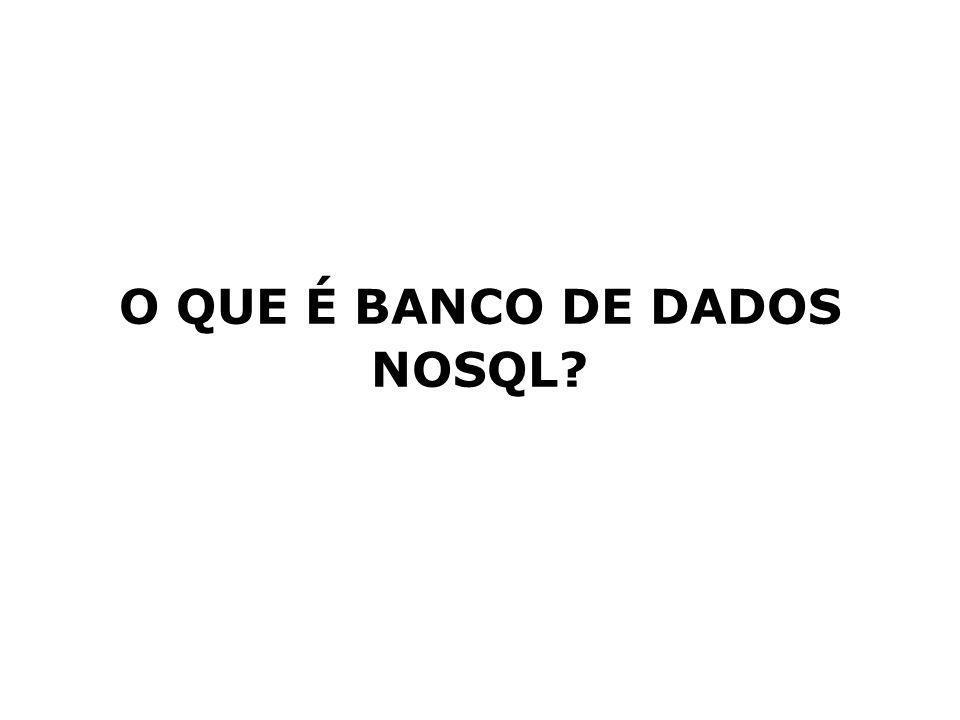 O QUE É BANCO DE DADOS NOSQL