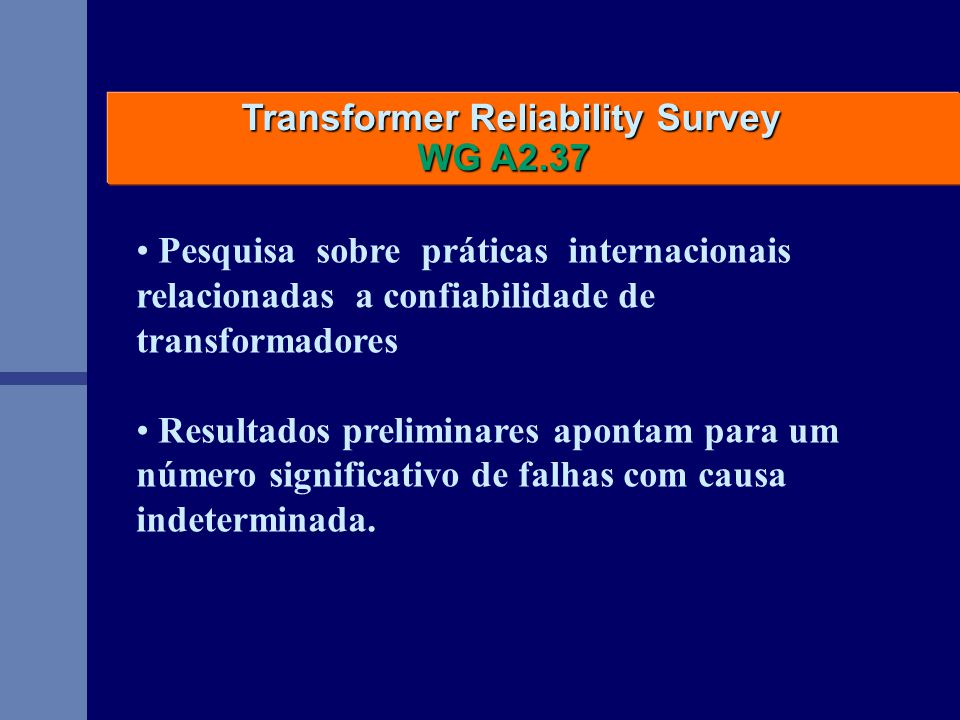 Transformer Reliability Survey