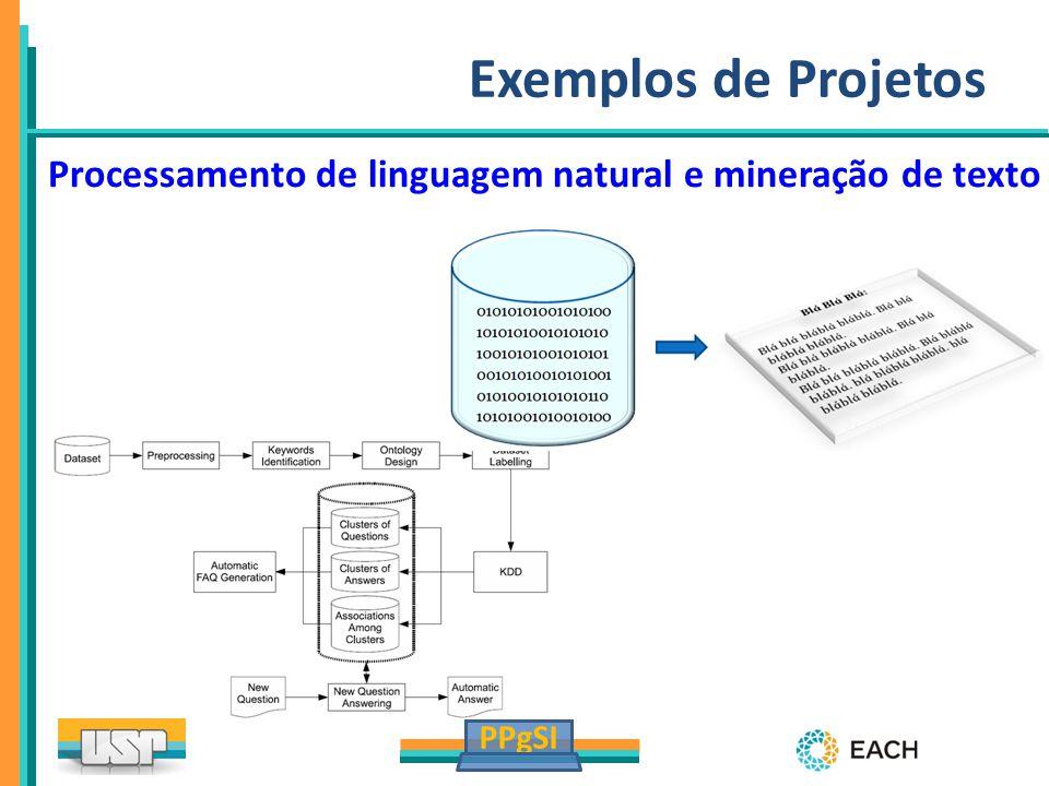 Exemplos de Projetos Processamento de linguagem natural e mineração de texto 19