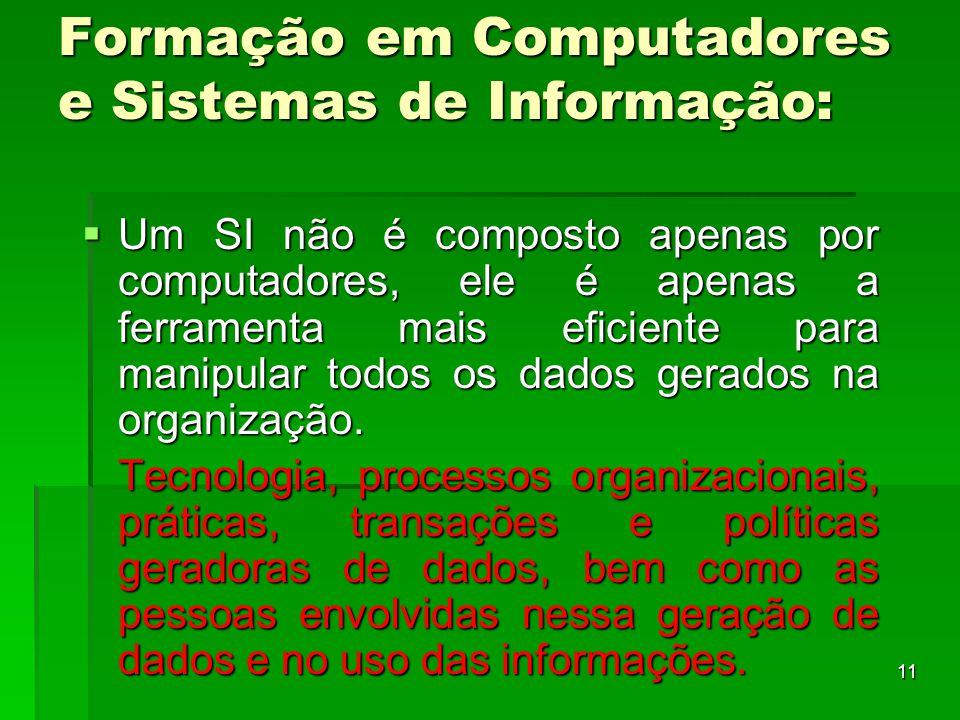 Formação em Computadores e Sistemas de Informação: