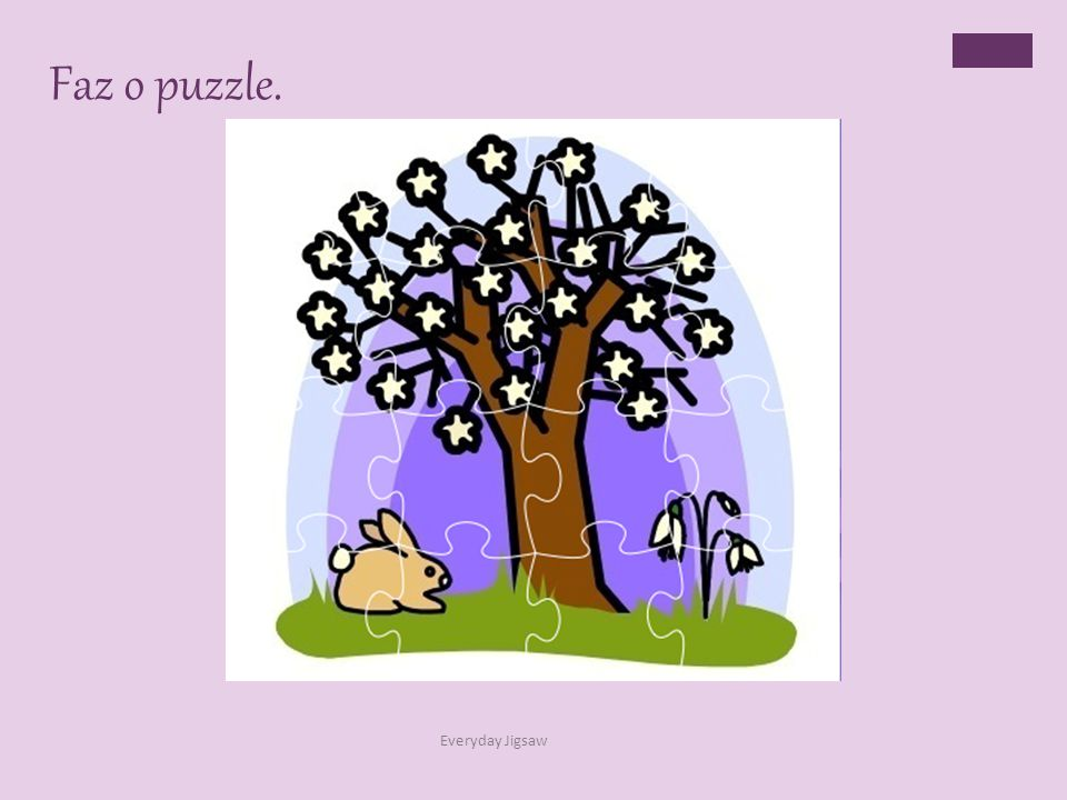 Faz o puzzle. Everyday Jigsaw