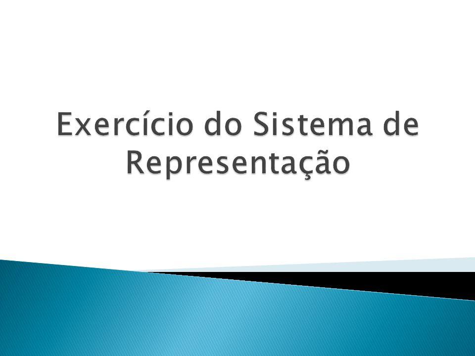 Exercício do Sistema de Representação