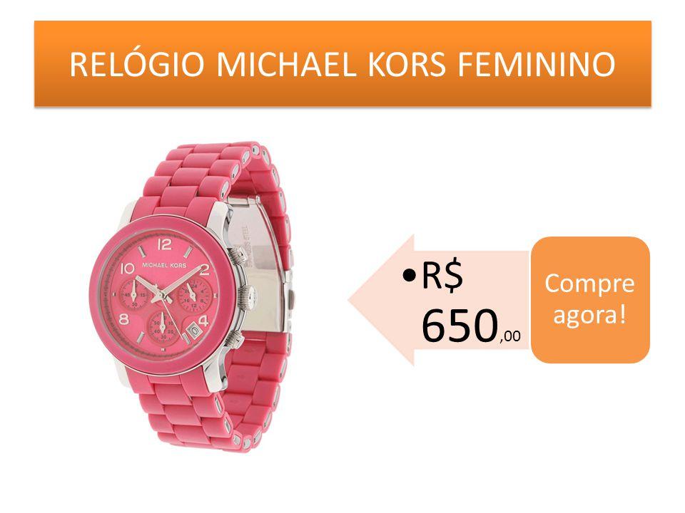RELÓGIO MICHAEL KORS FEMININO