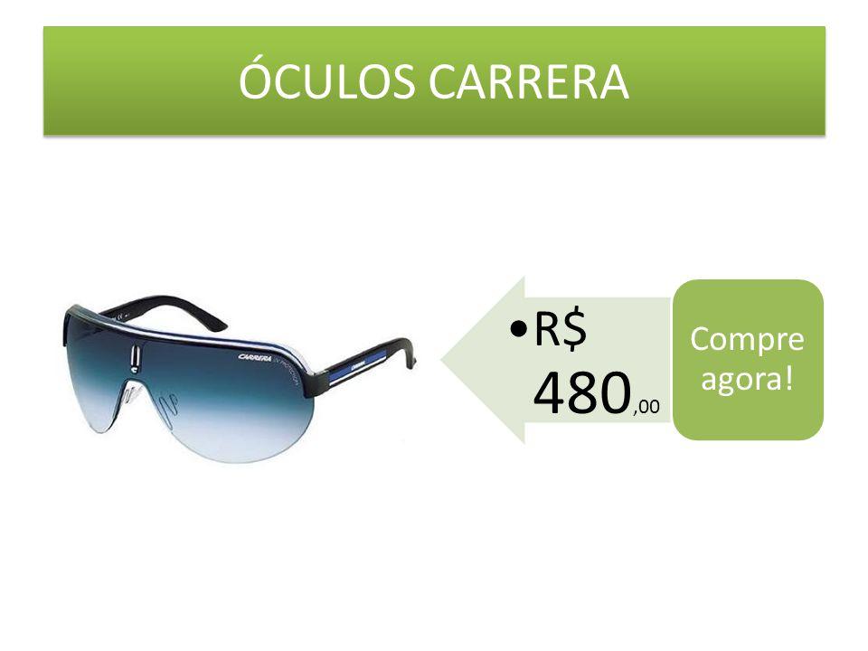 ÓCULOS CARRERA Compre agora! R$ 480,00