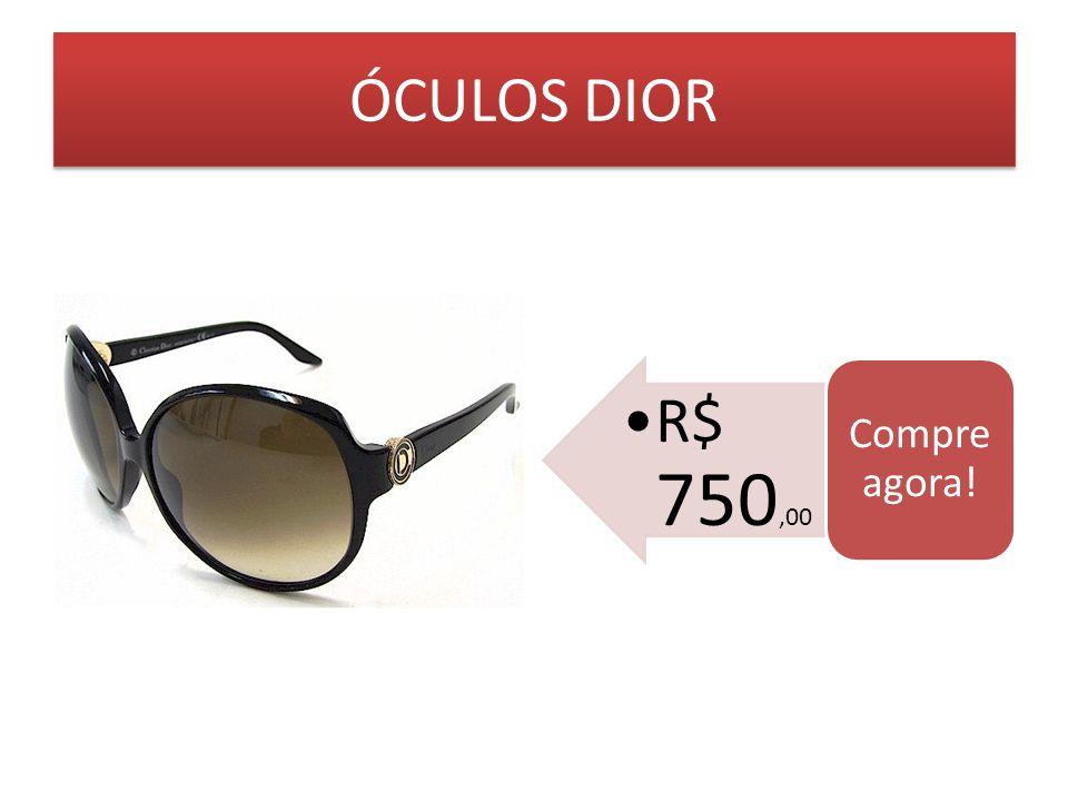 ÓCULOS DIOR Compre agora! R$ 750,00
