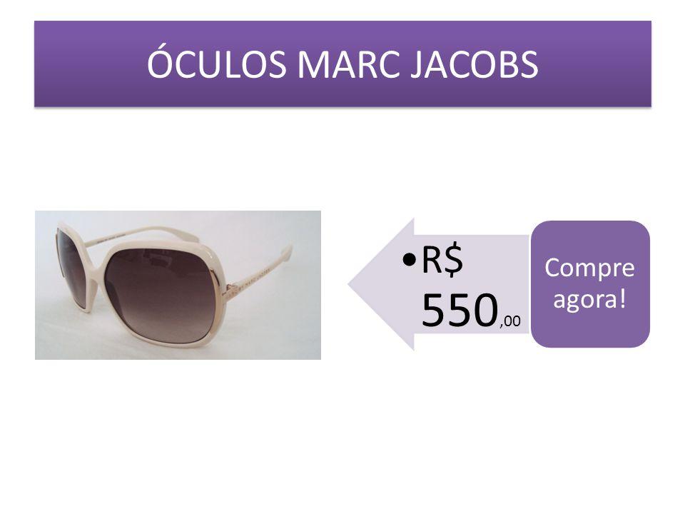 ÓCULOS MARC JACOBS Compre agora! R$ 550,00