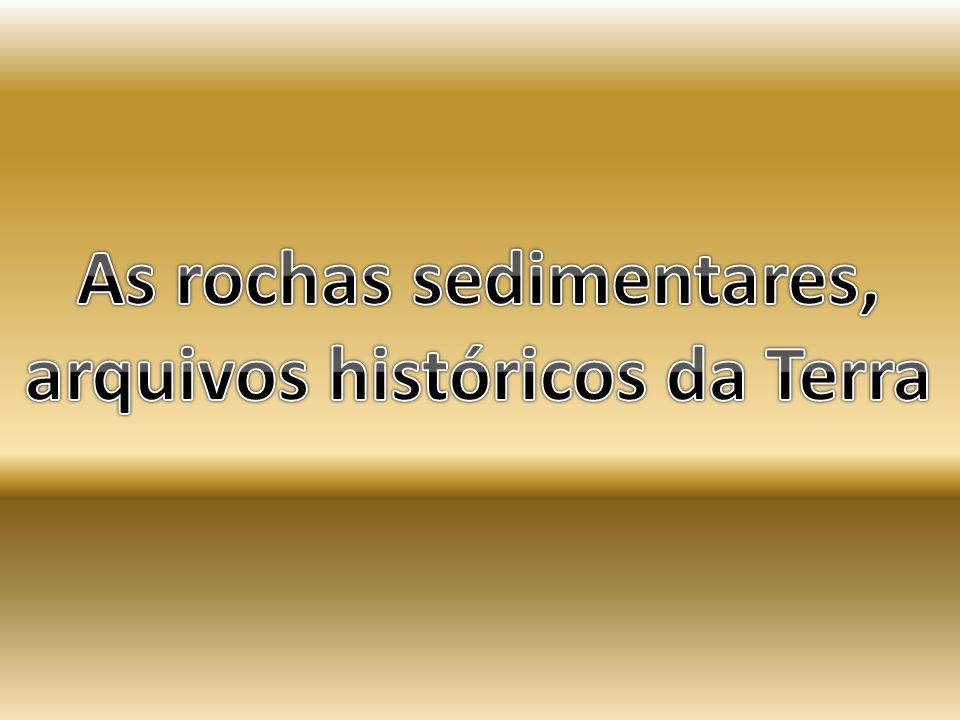As rochas sedimentares, arquivos históricos da Terra