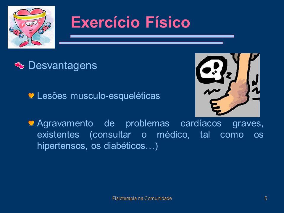 Fisioterapia na Comunidade