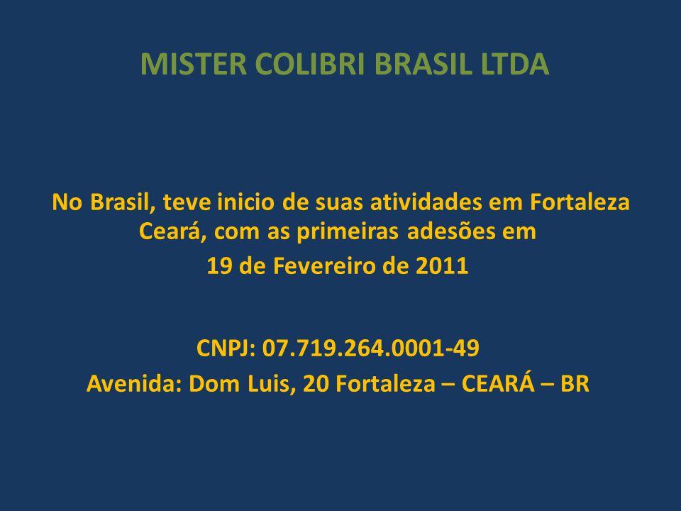 MISTER COLIBRI BRASIL LTDA