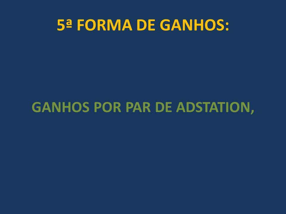 GANHOS POR PAR DE ADSTATION,