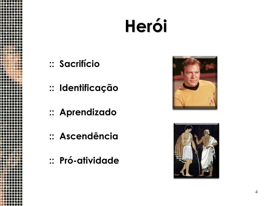 Herói :: Sacrifício :: Identificação :: Aprendizado :: Ascendência