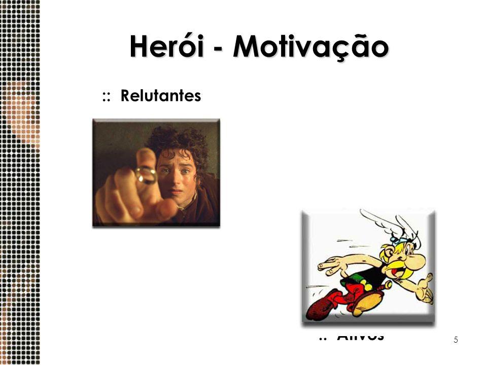 Herói - Motivação :: Relutantes :: Ativos