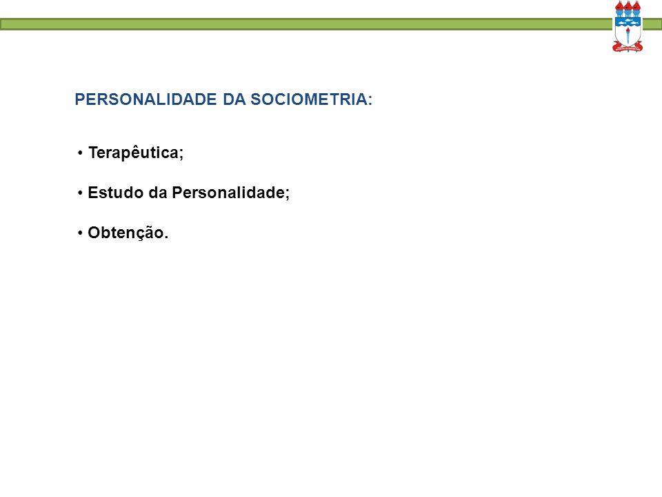 PERSONALIDADE DA SOCIOMETRIA: