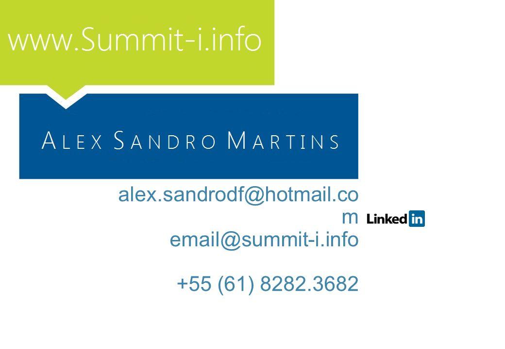 110 alex.sandrodf@hotmail.com email@summit-i.info +55 (61) 8282.3682