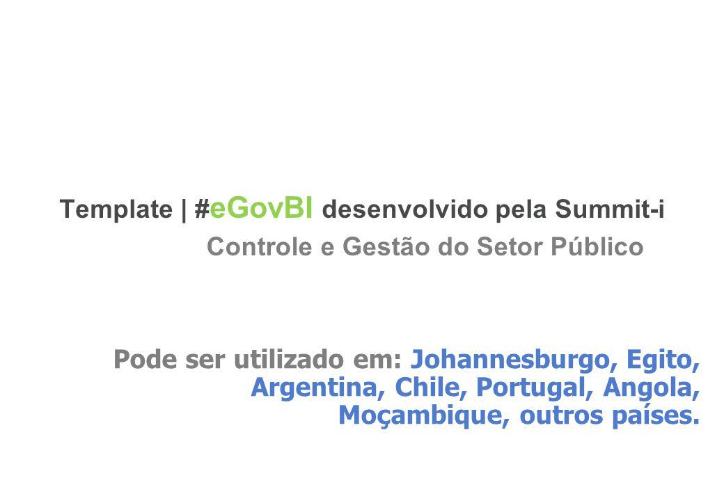 Template | #eGovBI desenvolvido pela Summit-i
