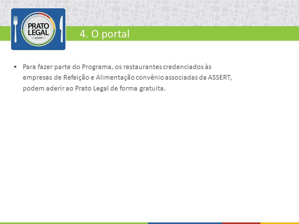 4. O portal