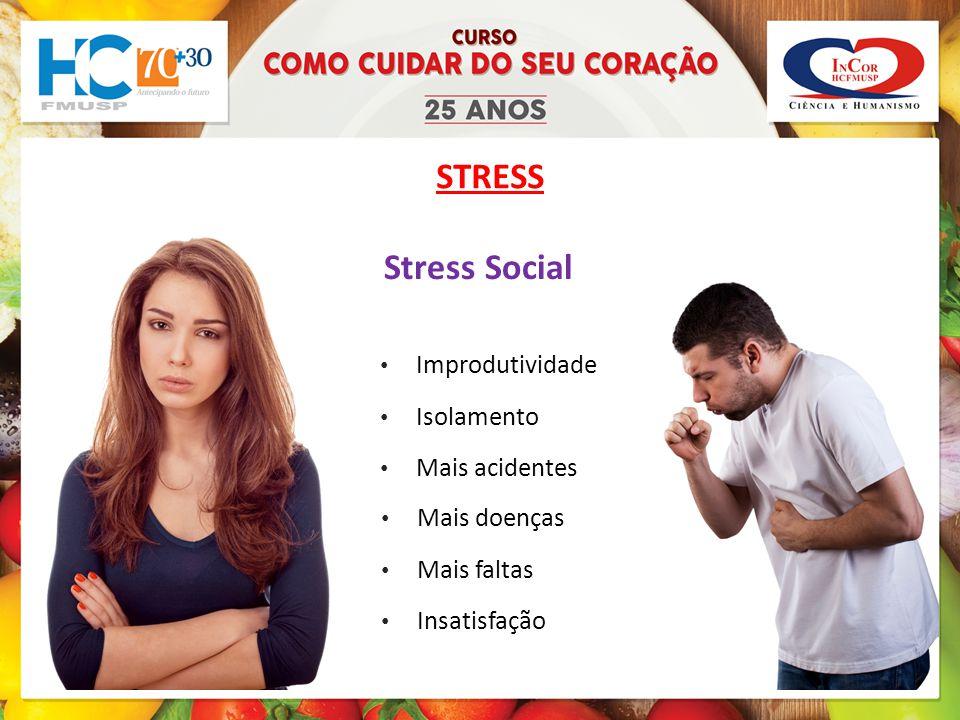 STRESS Stress Social Improdutividade Isolamento Mais acidentes