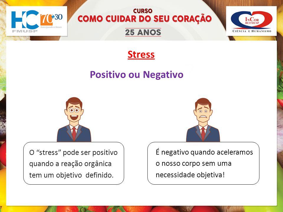 Stress Positivo ou Negativo
