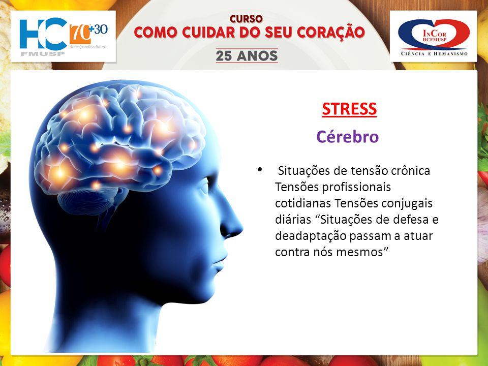 STRESS Cérebro.