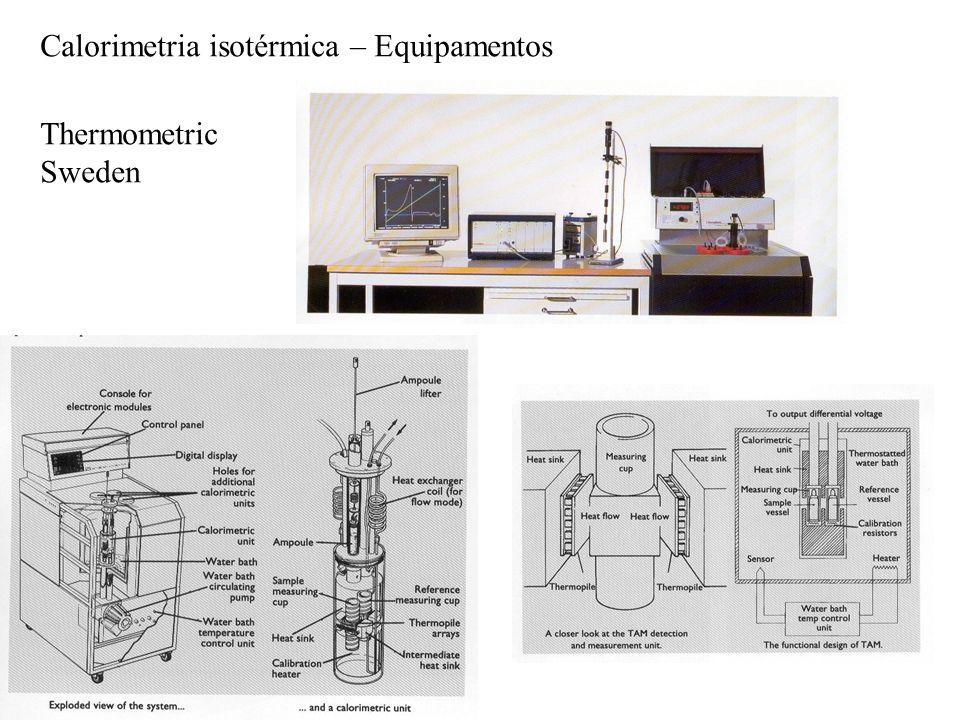 Calorimetria isotérmica – Equipamentos