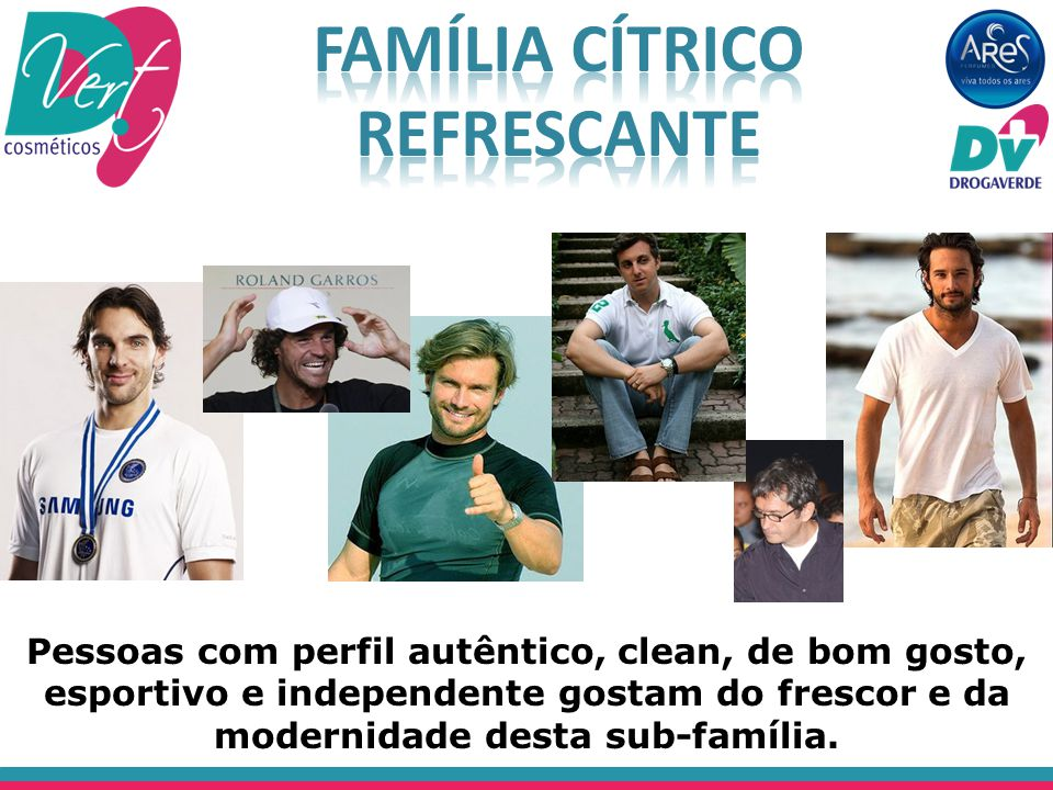 Família Cítrico Refrescante