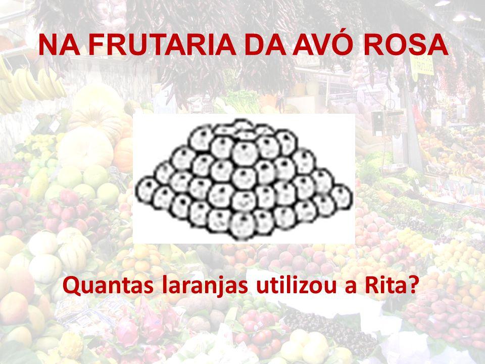 Quantas laranjas utilizou a Rita