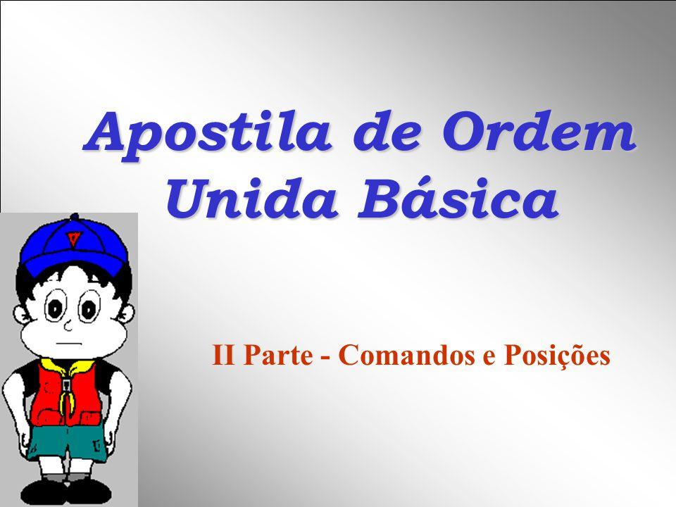 Apostila de Ordem Unida Básica
