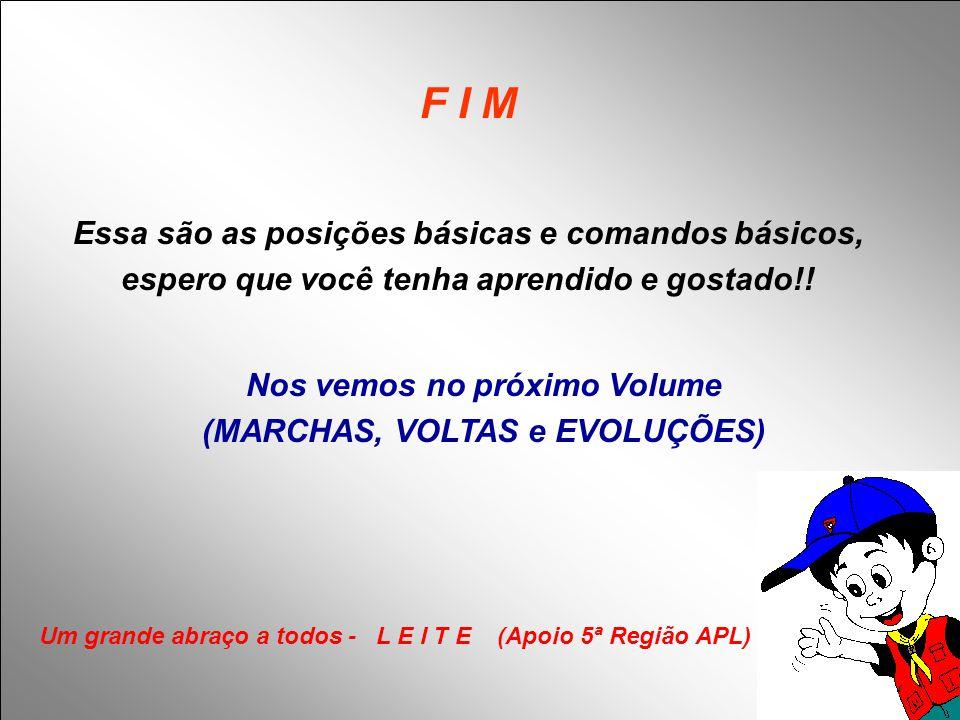 F I M Essa são as posições básicas e comandos básicos,
