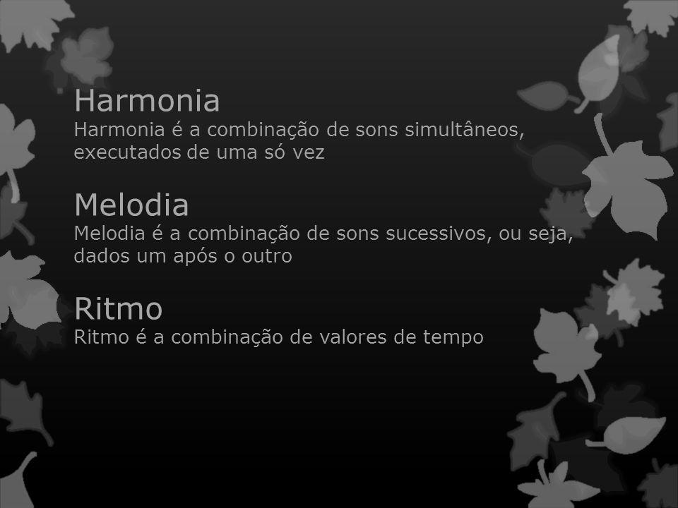 Harmonia Melodia Ritmo