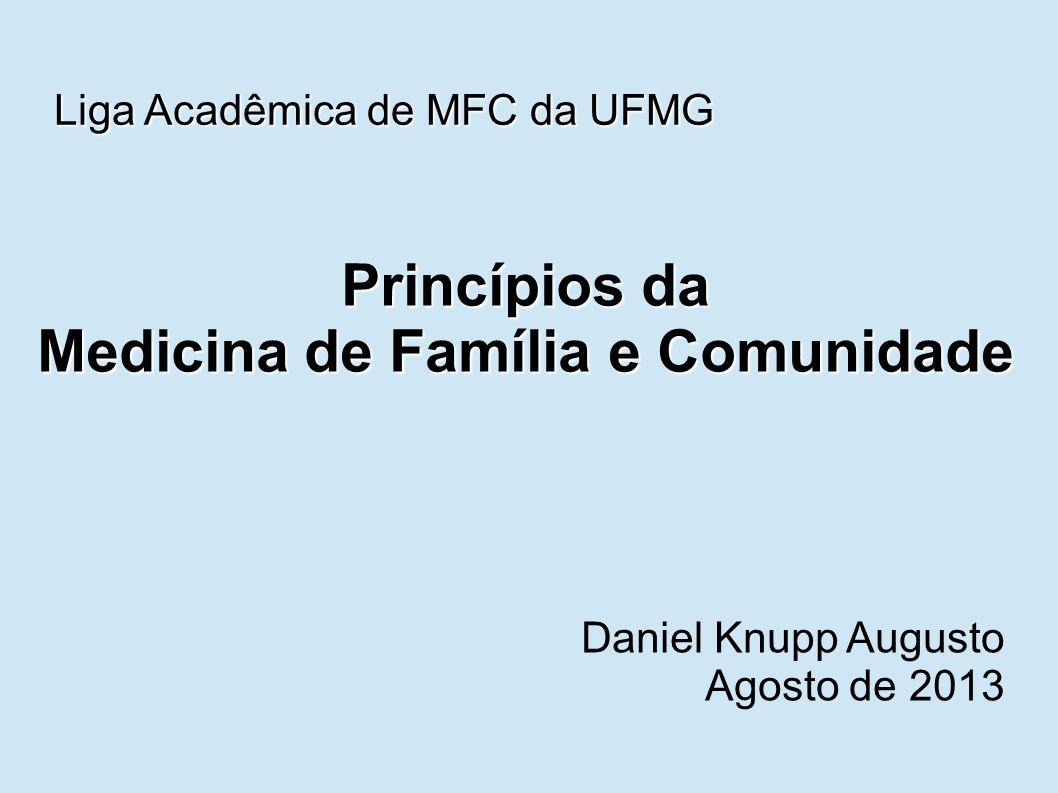 Princípios da Medicina de Família e Comunidade