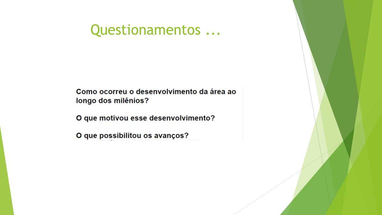 Questionamentos ...