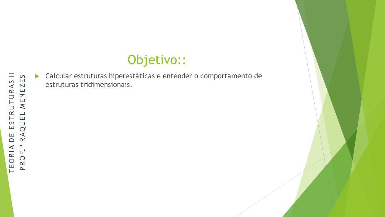 TEORIA DE ESTRUTURAS II