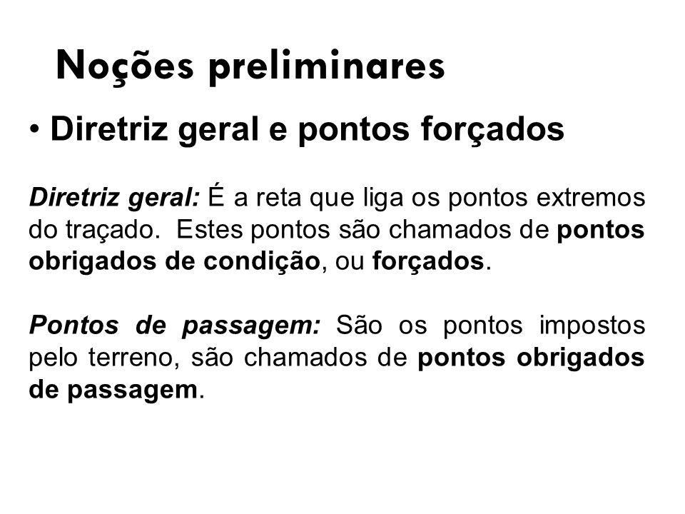 Noções preliminares Diretriz geral e pontos forçados