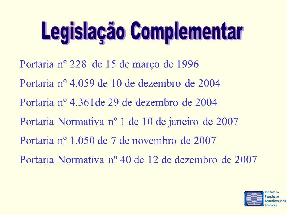 Legislação Complementar