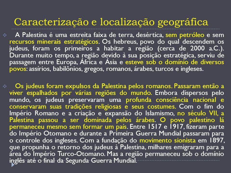 Caracterização e localização geográfica
