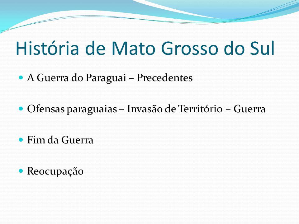 História de Mato Grosso do Sul