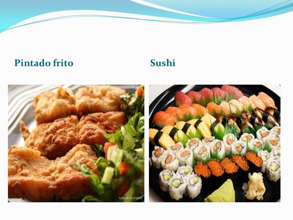 Pintado frito Sushi