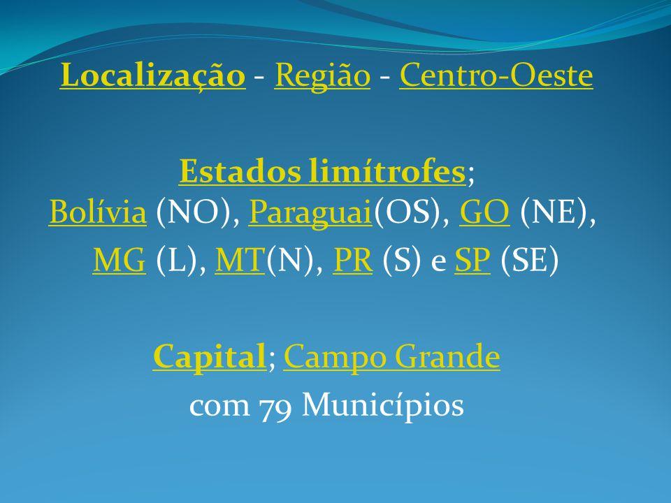 Localização - Região - Centro-Oeste