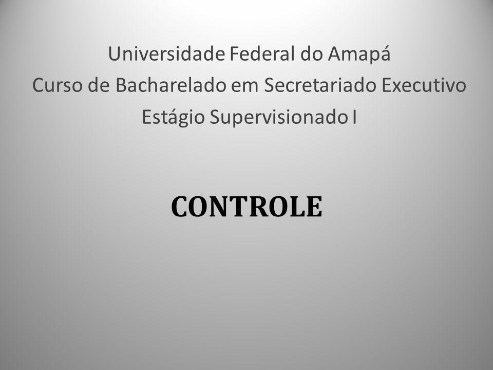 CONTROLE Universidade Federal do Amapá
