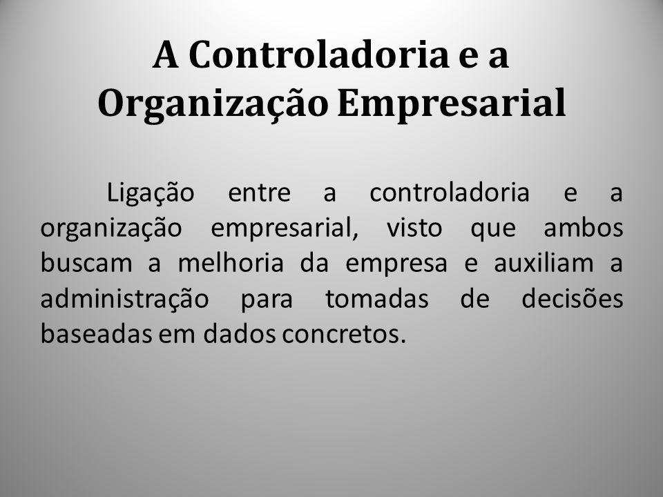 A Controladoria e a Organização Empresarial